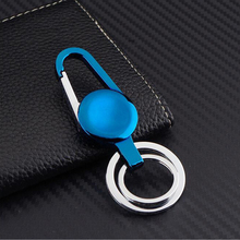 5PCS/Set High Quality Car Key Chain Zinc Alloy Grill Key Chain Key Ring For Audi Ford Car Key Styling Auto Decoration