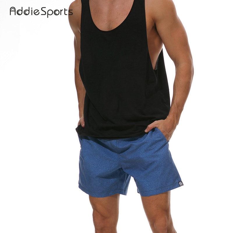 Summer High-quality Australia Mens Upscale Beach Leisure Shorts 2018 New Pure color Mens Four-point beach pantS A18135