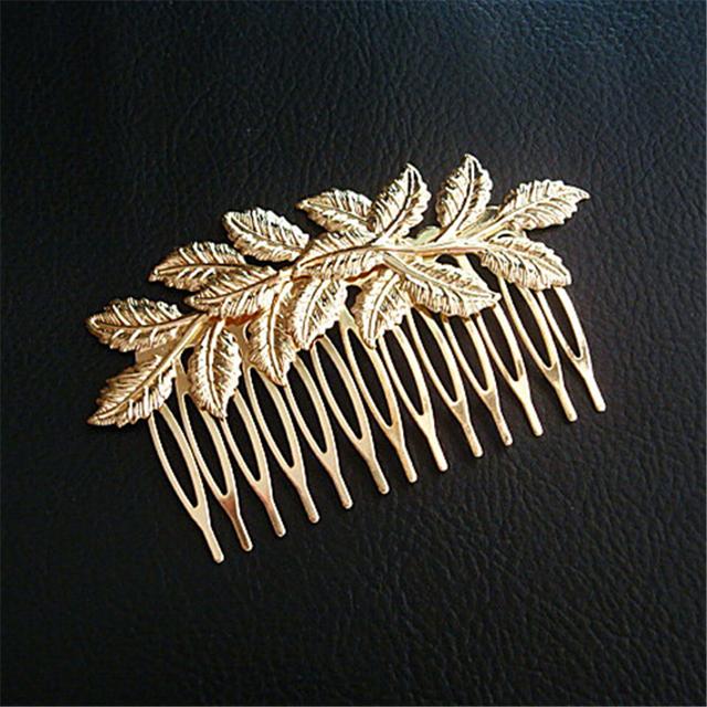 New Leaf Elegant Hair Slides