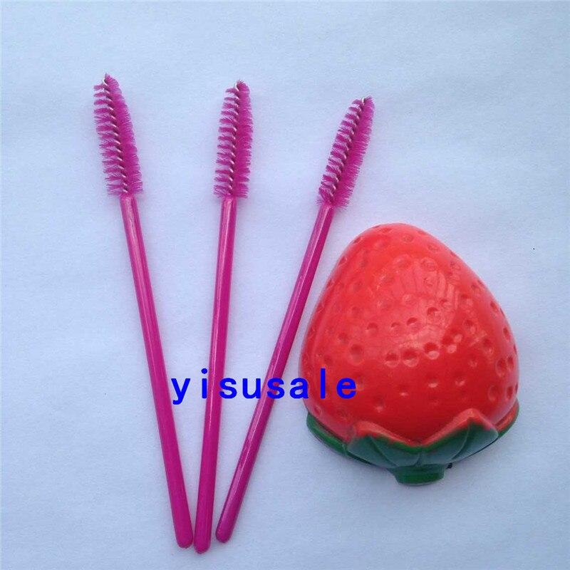200pcs/lot Disposable eyelash brush one-off Mascara Wands Applicator makeup brushes eyelash extension
