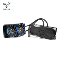 Colorful IGame GeForce GTX1080Ti GP102 Video Gaming Graphic Card 11GB GDDR5 1480MHz 16nm 352bit LCD Monitor