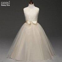 Nắng eva 6 colours ren đảng cô gái ăn mặc công chúa trang phục cho halloween bé quần áo bow công chúa Evening dresses cho cô gái