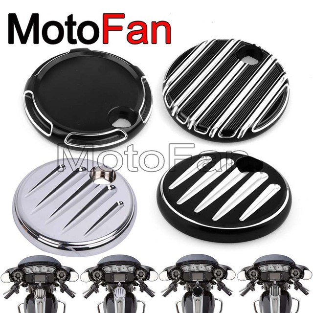 Harley Davidson Covers >> Us 15 19 20 Off Deep Cut Motorcycle Fuel Tank Door Cover Gas Cap Custom For Harley Davidson Touring Road Electra Street Glide Cvo Trike Flhx In