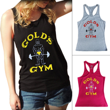 Tank Top Women Golds Vest Fitness Singlets Bodybuilding Stringer Clothing Sexy Crop Tops Female Shirt Undershirt Clothes