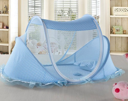 Matras Voor Wieg : Draagbare opvouwbare baby kids baby bed dot rits luifel klamboe tent