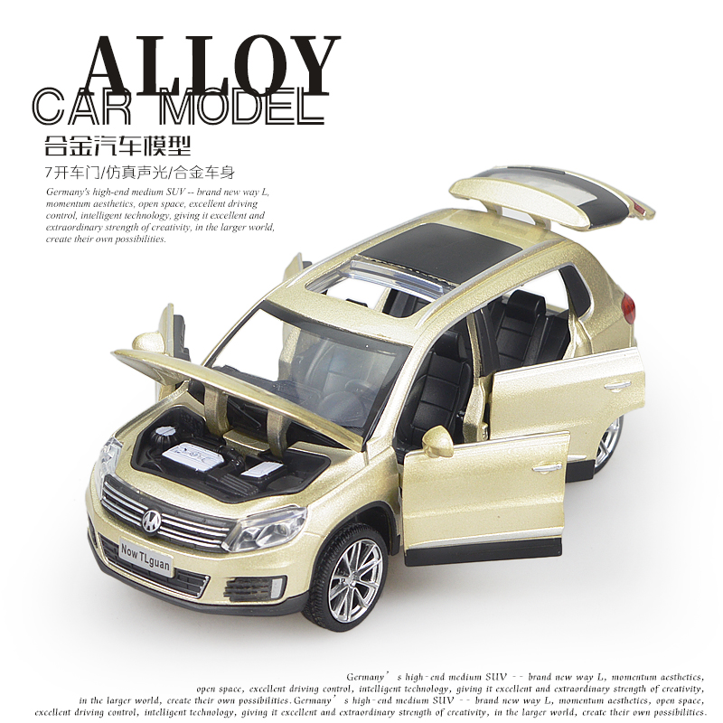 Alloy acousto-optic SUV simulation Birthday Christmas Childrens Day New years gifts children kid toy car model 1:32