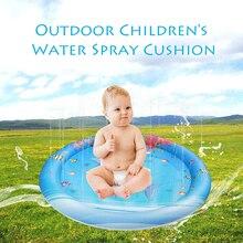 Стиль дети КИТ СИНИЙ водная подушка дети водная Подушка игрушка вода спринклер всплеск игровой коврик подкладка для отдыха на открытом воздухе