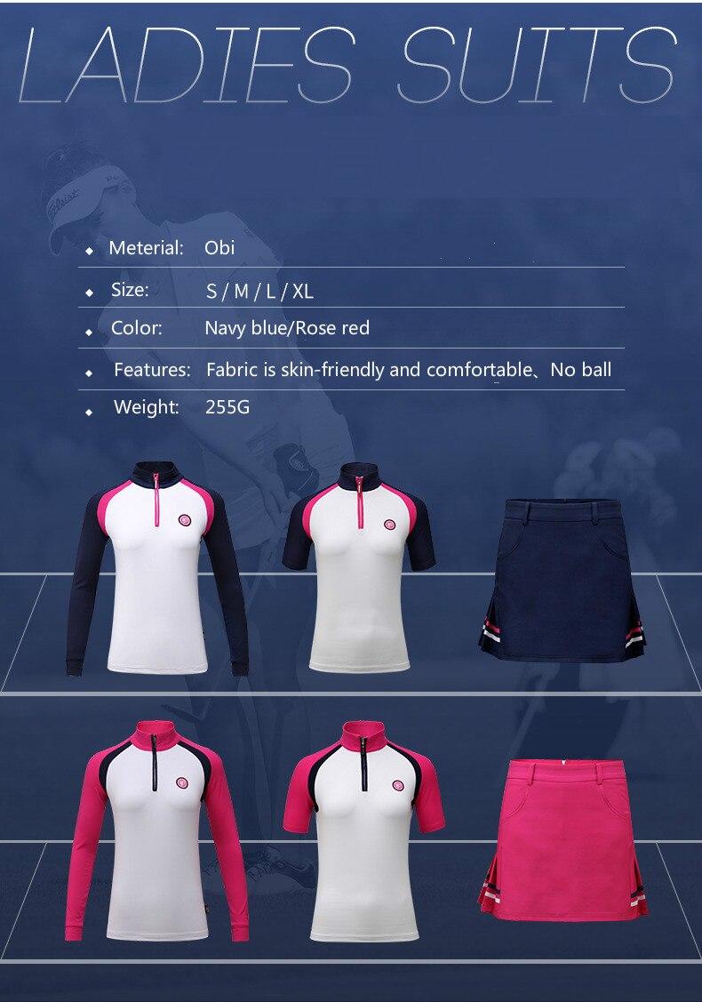 Ms. de manga comprida T-camisa de Golfe