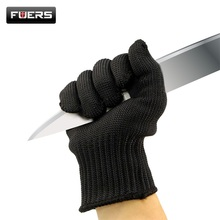 Fuers Gloves Proof Protect Stainless Steel Wire Safety Gloves Cut Metal Mesh Anti Cutting Breathable Work Gloves Self Defense
