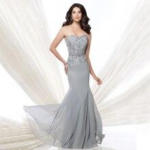 2016 neue Ankunfts-reizvoller Formale Kleid Party Kleider Vestidos De Festa Applique Chiffon Abendkleider Schnelle Verschiffen