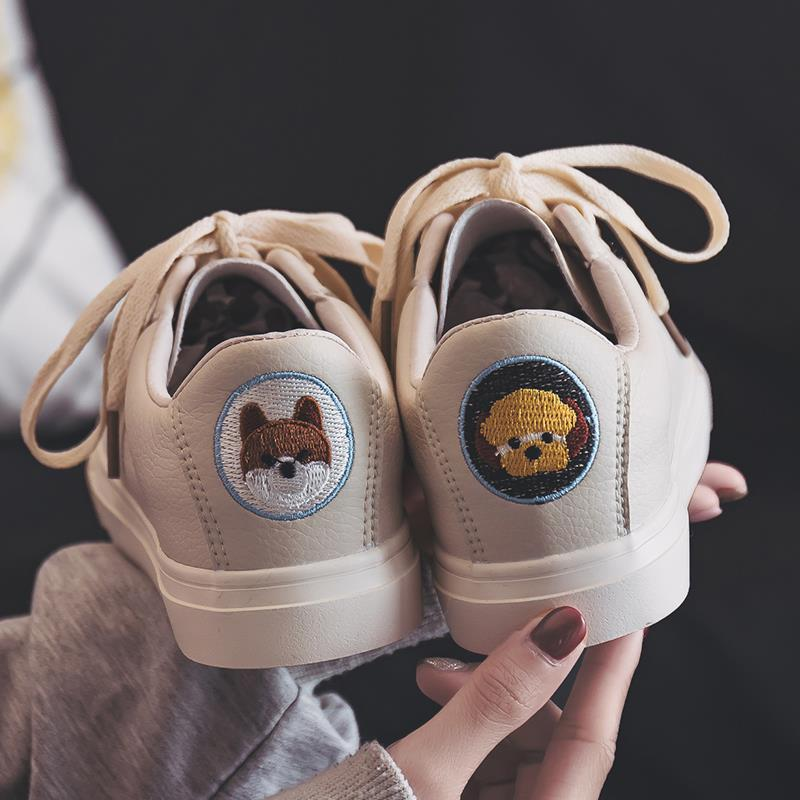 Women Shoes Fashion Female Vulcanize Shoes Student Board Shoes Ladies Casual Shoes Cartoon and Fruit Woman Sneakers BX80