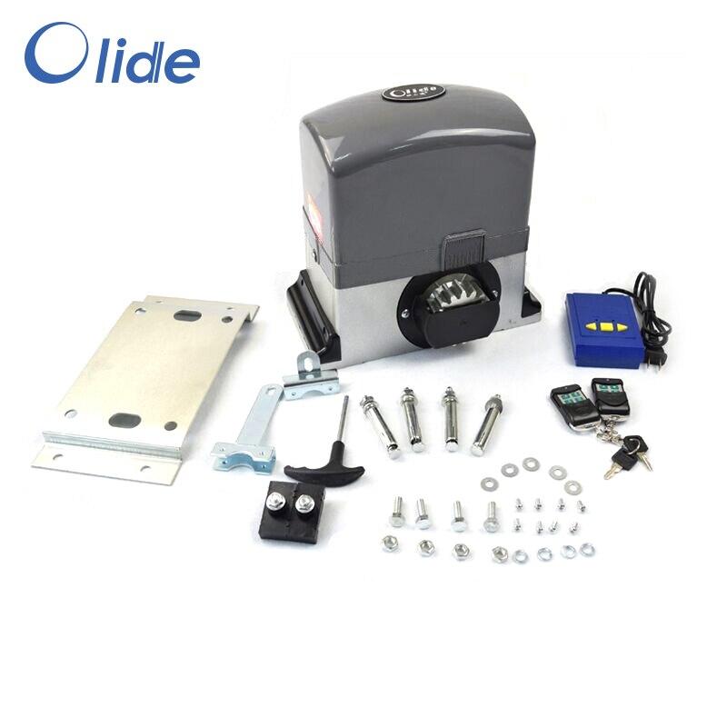 Moteur à courant alternatif automatique d'opérateur de porte coulissante pour le poids de porte de 600 kg-800 kg