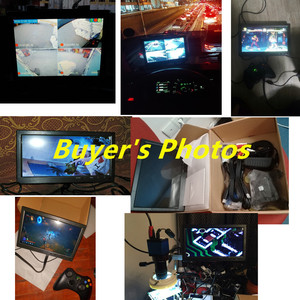 """Image 2 - Podofo 10.1 """"LCD HD & Máy Tính Màn Hình Màn Hình Màu 2 Đầu Vào Video An Ninh Giám Sát BNC / AVI / VGA / HDMI"""