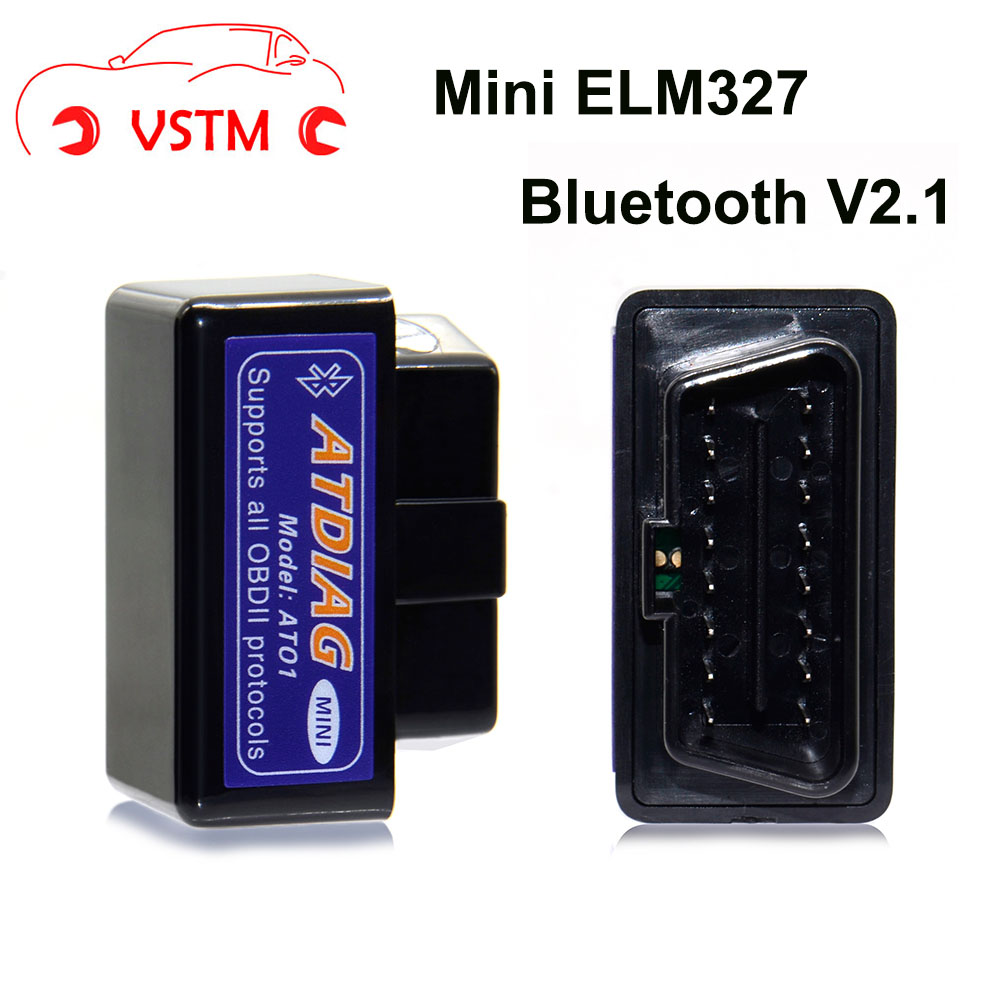 Mini ELM327 Bluetooth OBD2 V2.1 Car Auto Diagnostic Interface Scanner Android