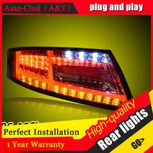 Светодиодные задние фонари в сборе для Audi TT 2006-2013, светодиодные задние лампы, стоп-сигнал, задний фонарь, ДХО, автомобильные задние фонари