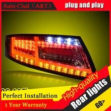 Новый светодиодный задний фонарь в сборе для Audi TT 2006 2013, светодиодный задний фонарь, стоп сигнал, задний фонарь DRL, задний фонарь для автомобиля s