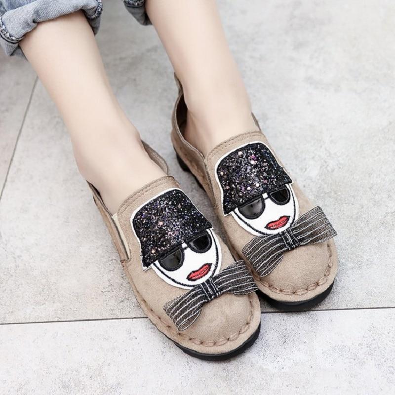 Plat 2018 Et 1 Chaussures Toile Nouveau Printemps Mode Automne Mou Fond Casual 2 Féminine 3 De Antidérapant Iw1rIq5Cx