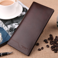 New Men Large Capacity Genuine Leather Wallet Men S Cowhide Long Wallet Design Purse Male For