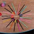 Pincéis de Maquiagem descartável 300 peças/lote cílios Cores Diferentes Escolher Silicone Mascara Aplicador Wand Compo a Escova