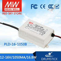 Advantages MEAN WELL PLD 16 1050B 16V 1050mA meanwell PLD 16 16V 16.8W Single Output LED Switching Power Supply