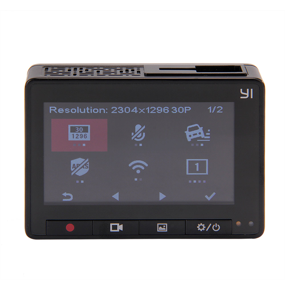 INTERNATIONAL EDITION ORIGINAL XIAOYI YI SMART CAR DVR DASH CAM CAR DETECTOR DASH CAMERA 202920 11