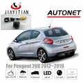 JIAYITIAN kamera tylna do Peugeot 208 2012 2013 2014 2015 2016 2017 2018 kamera cofania/Night Vision/kamera na tablicę rejestracyjną