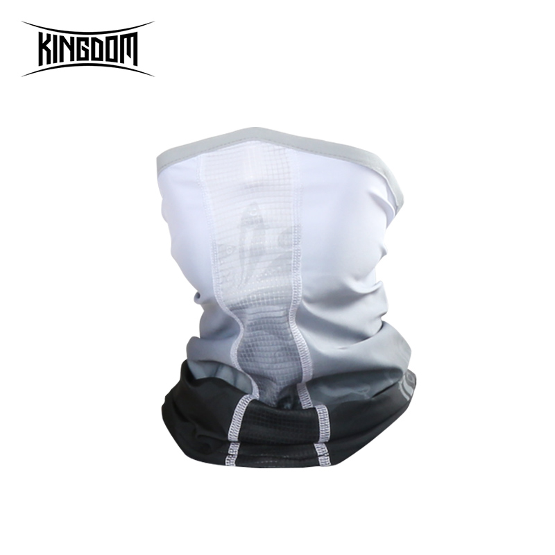 Kingdom Fishing Face Mask Windproof UV Protection Sports Outdoor Fishing Face Mask  Lightweight Breathable Fishing Apparel