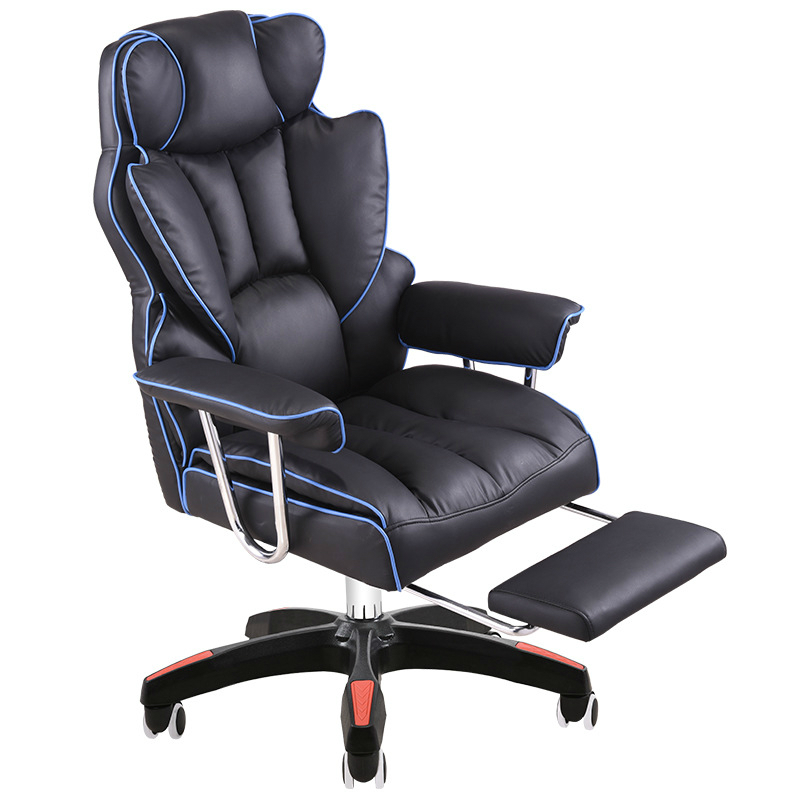 Thicken Office Chair Sumptuous Boss Stool Lifted And Rotation Gaming Chair With Footrest Reclining Household Computer Chair