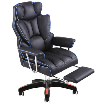 Thicken Office Chair Sumptuous Boss Stool Lifted and Rotation Gaming Chair with Footrest Reclining Household Computer Chair portable multifunction tattoo chair cosmetology manicure lifted stool rotated barber chair with footrest office staff stool