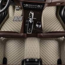 цена на HLFNTF Custom car floor mats fit 99% of the models car-styling heavy duty all weather protection car accessorie carpet