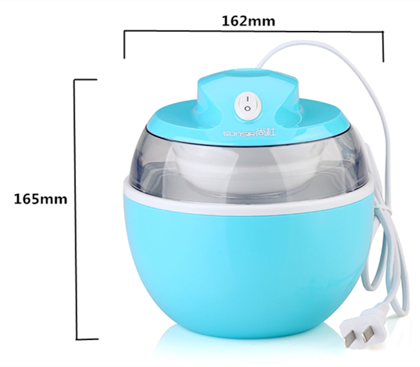 sunsir 220V home ice cream maker Ice Cream Makers portable   Fashion    machine