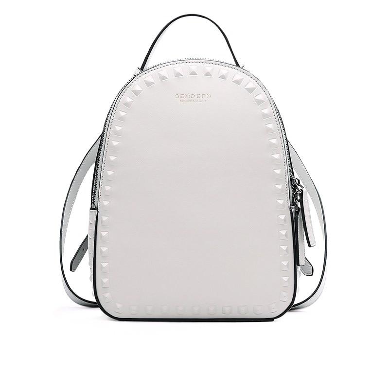 Backpacks Woman 2019 Mini Split Leather Backpack Female Solid Travel Ladies Fashion Backpack School Students Backpacks For Girls