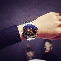 Cindiry Brand Luxury Business Men Watches Classic Men S Automatic Hollow Dial Man Mechanical Watches Reloj