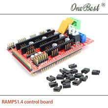 3D printer accessories  RAMPS1.4 control board printer Control Reprap MendelPrusa free shipping