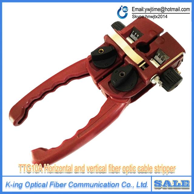 TTG10 Alongitudinal cortador de cabo, janela óptica faca de abertura, cabo de stripper Para diâmetro do cabo de bainha exterior faixa de 8 ~ 30mm
