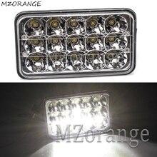 MZORANGE 45W DRL LED Spot Flood Working Light Worklight 24V 4WD 12 Volt Work Lights for Off Road Vehicle SUV Car Trucks