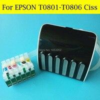 1 Conjunto Sistema de Abastecimento Contínuo de Tinta Para Impressora Epson Para Epson 1400 1430 1500 W R285 RX585 RX685 RX560 P50 PX650 PX660 Ciss De Impressora