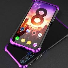 купить Shockproof Metal Bumper Case For Samsung Galaxy S10 Plus S9 Case Hard Armor Plastic Back Cover for Samsung S10Plus S9Plus Coque дешево