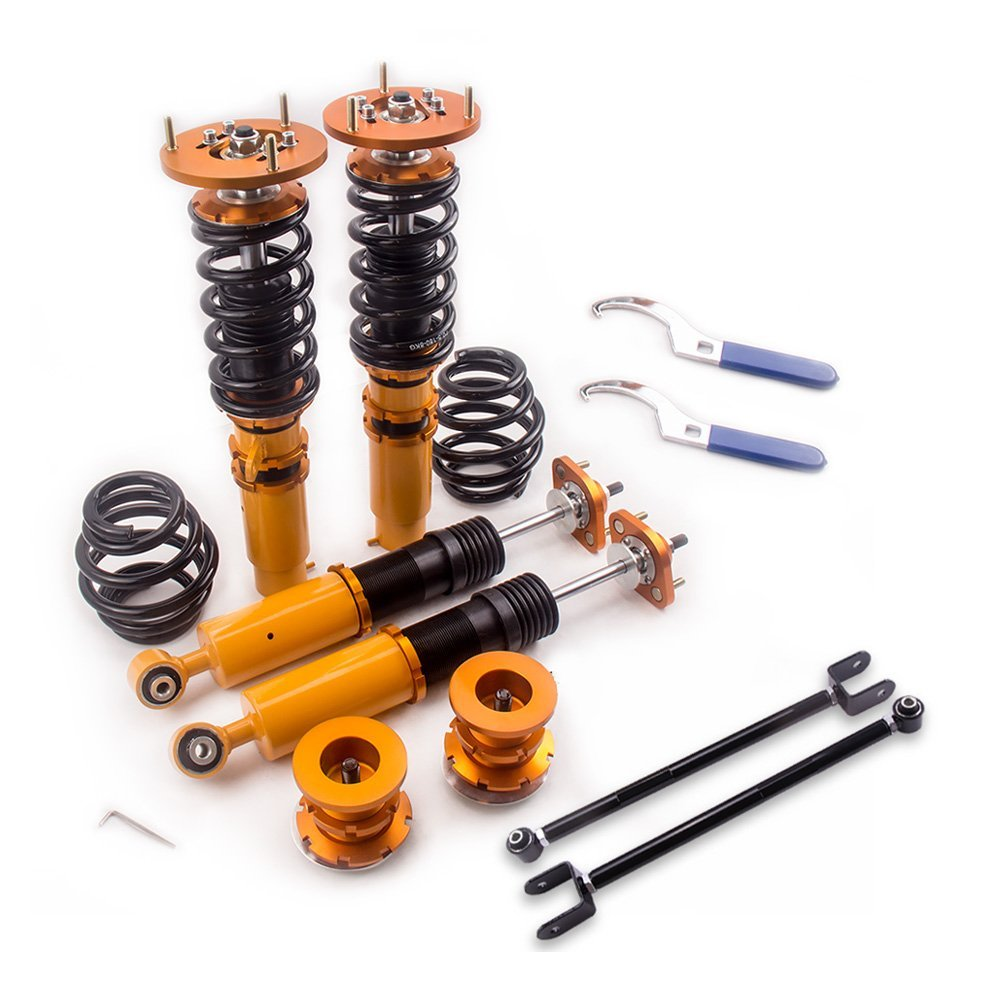 Coilover Suspension For 98-02 BMW <font><b>E46</b></font> M3 330i 330Ci Spring Strut Kit 323Ci <font><b>325Ci</b></font> 323i Shock Damper Camber Coilovers Spring image