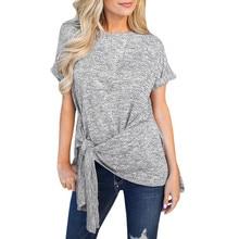 Short Sleeve O Neck Streetwear Tshirts For Women