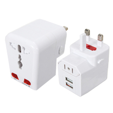 цена на New Universal To US/UK/AU/EU World Travel AC Power Adapter Plug Socket Converter Wall Charger All-in-one Charging For Phone Tabl