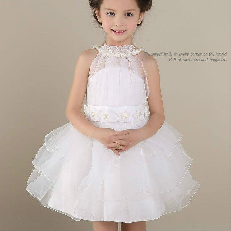 Kids Princess Dress Children Girls Summer New Wedding Castle Sofia