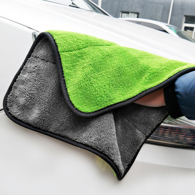 2018 Size 30*30CM Car Wash Microfiber Towel Car Cleaning Drying Cloth Hemming Car Care Cloth Detailing Car Wash Towel For Toyota