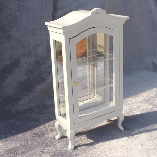 High Quality Doll House Miniature Chinese Classical Wardrobe Mini Cabinet  Bedroom Furniture Kits Home U0026 Living