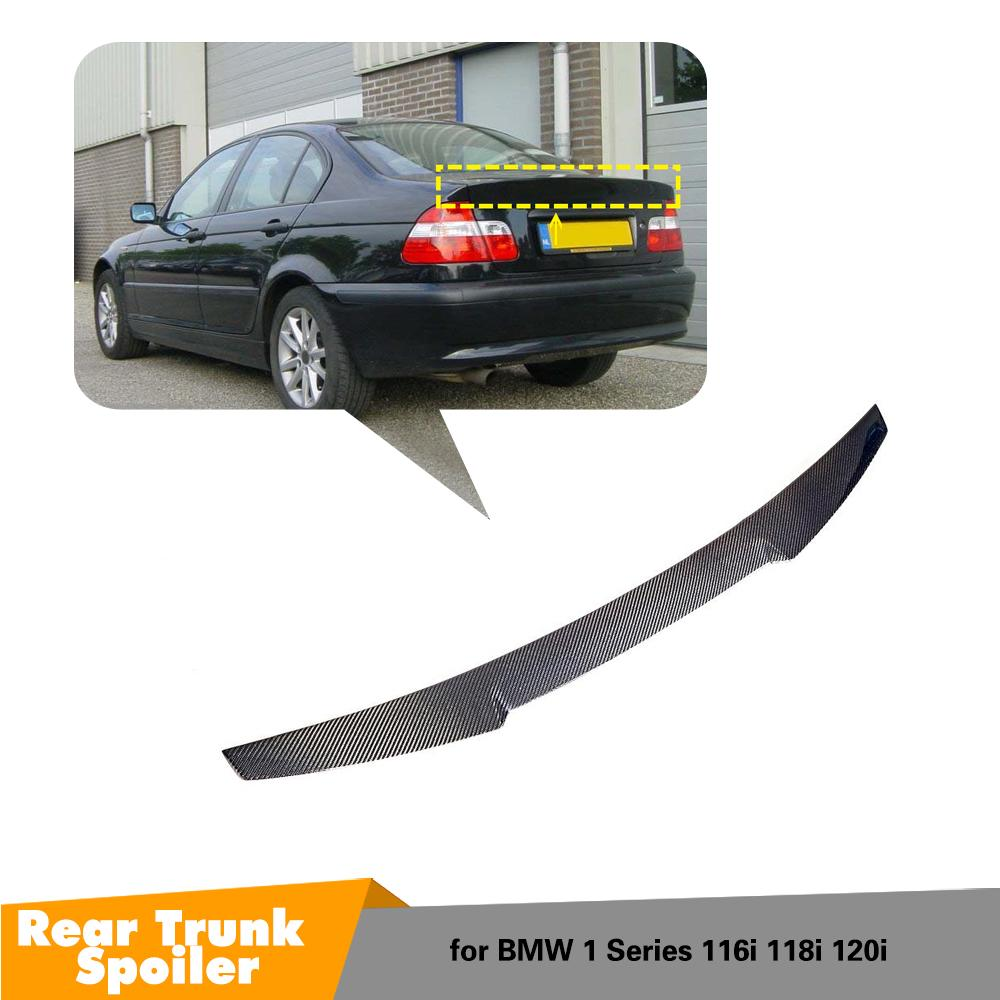 M4 Style Spoiler for E46 4 Door Sedan Carbon Fiber Trunk Wing Lips For BMW 3 Series Car Styling Auto PartsM4 Style Spoiler for E46 4 Door Sedan Carbon Fiber Trunk Wing Lips For BMW 3 Series Car Styling Auto Parts