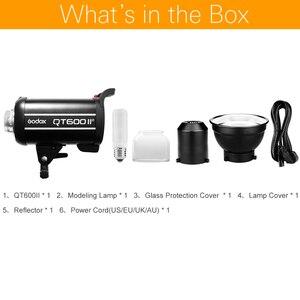 Image 2 - Godox QT600II QT600 Ii 600WS GN76 1/8000 S High Speed Sync Flash Strobe Licht Met Ingebouwde 2.4G Wirless Systeem