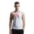 Nova marca clothing top homens tanque ouros musculação fitness ginásios ginásios-secagem rápida poliéster colete stringer undershirt sportswear