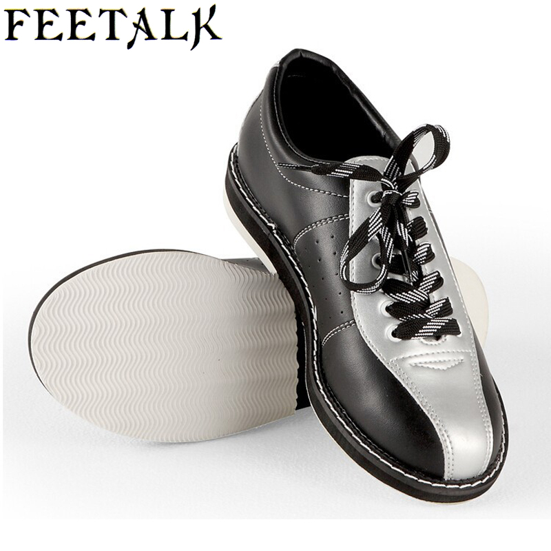 Feetalk Unisex Bowling Shoes men women Skidproof Sole Professional Sports Bowling Shoes slip sneakers 006 bsi women s 651 bowling shoes