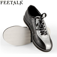 Feetalk Unisex Bowling Shoes men women Skidproof Sole Professional Sports Bowling Shoes slip sneakers 006