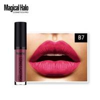 Brand Liquid Matte Lipstick Lip Gloss liquid matte lipstick Long Lasting Lip Gloss Cosmetic Beauty Makeup WD162 P1